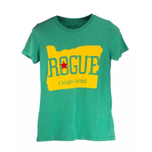 Women's Rogue Oregon Brewed Tee