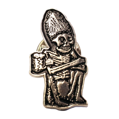 Dead Guy Enamel Lapel Pin